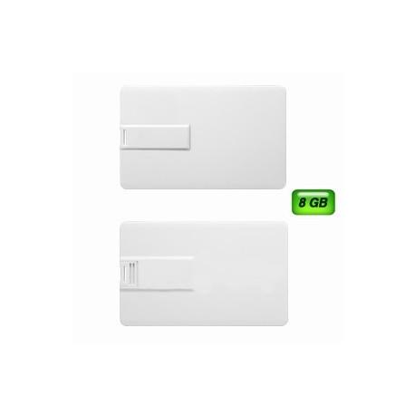 MEMORIA USB EN FORMA DE TARJETA SLIM 8GB