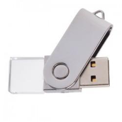 MEMORIA USB GIRATORIA DE ACRÍLICO 8 GB