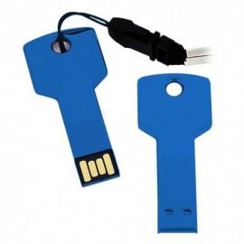 MEMORIA USB METALICA EN FORMA DE LLAVE DE 8 GB