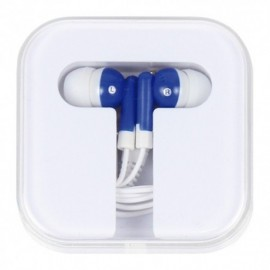 AUDIFONOS IN-EAR CON ESTUCHE FABRICADOS EN ABS