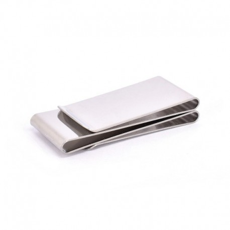 MONEYCLIP EN ACERO INOXIDABLE